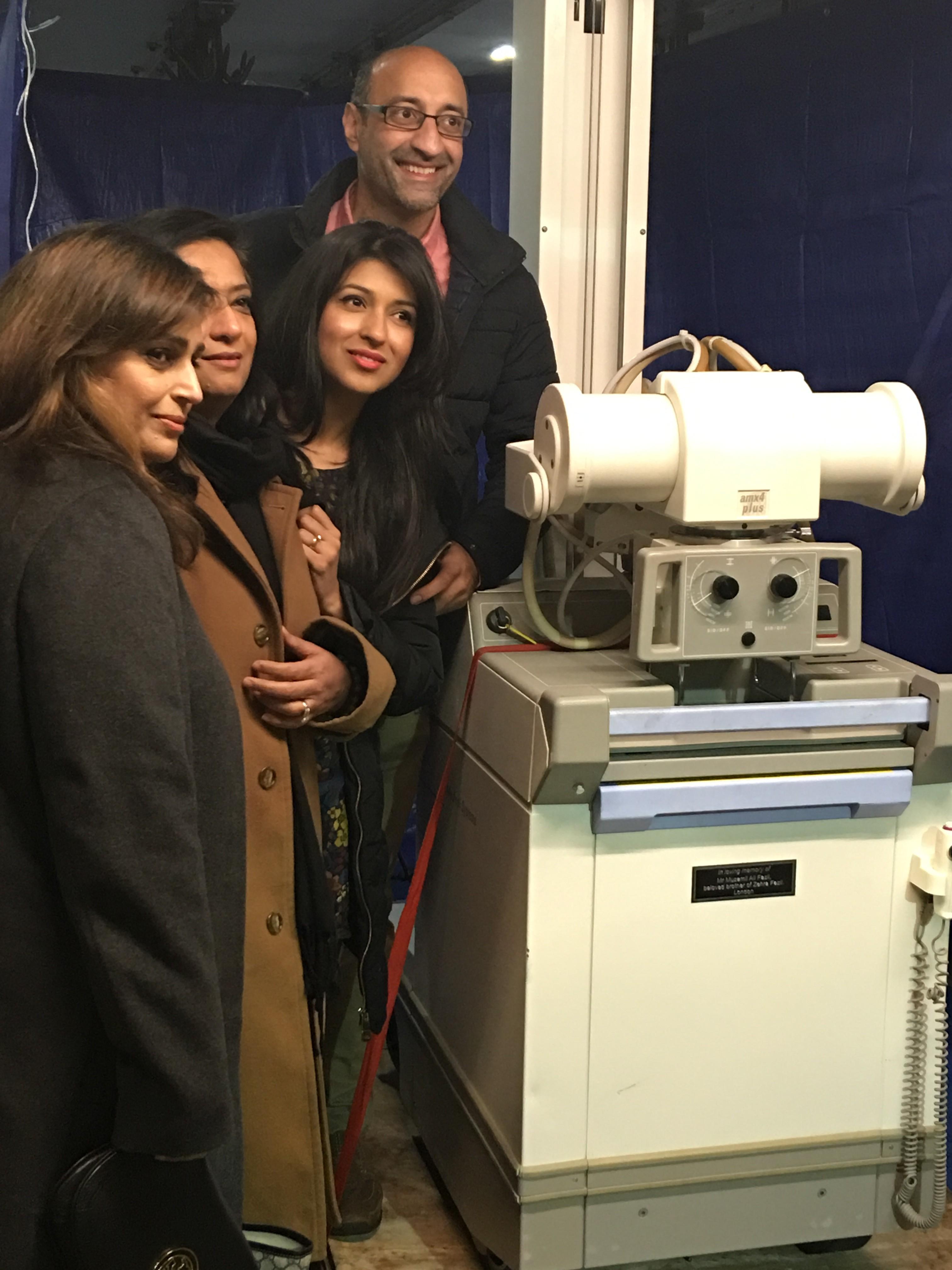 From  L-R: Zehra Dar, Zehra Fazil, Mufaza Rashid, Asrar Rashid